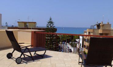 COD. 06 – Gallipoli – Lido San Giovanni – Attico con Ampio Terrazzo Vista Mare